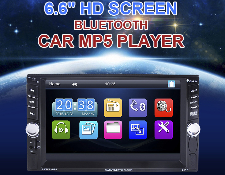 best 2 din car stereo Touch Screen 2din Car Radio Double Car Video (NO DVD) Player(NO GPS Navigation)In dash Car PC Stereo video