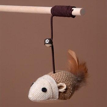 plush mouse cat toy