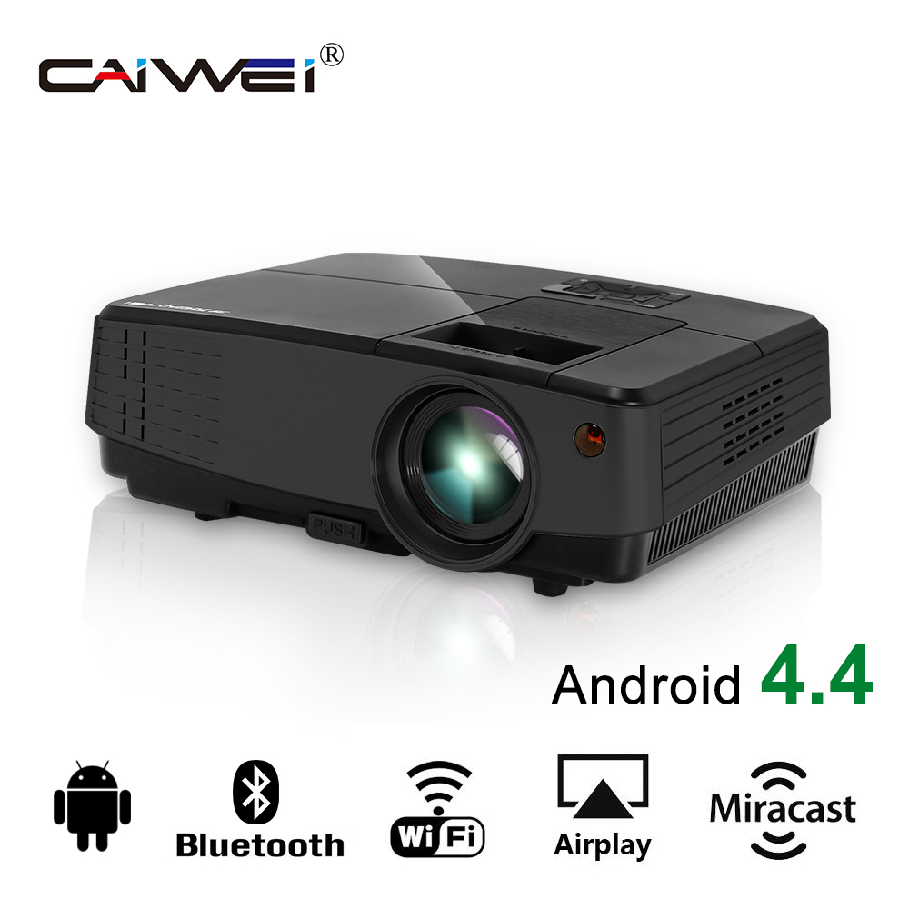 LCD LED Android WiFi Bluetooth projector Home Theater Beamer Wireless Connection