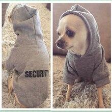 Безопасная Одежда для собак классическая одежда для собак с капюшоном для маленьких собак осеннее пальто куртка для Одежда для Йорка Чихуахуа Одежда для щенков 10d3S1
