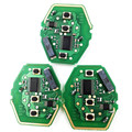 3pcs/lot 3 Button Straight Remote Car Key Circuit Board For BMW CAS2 315/433MHZ With 46 Electronic Chip