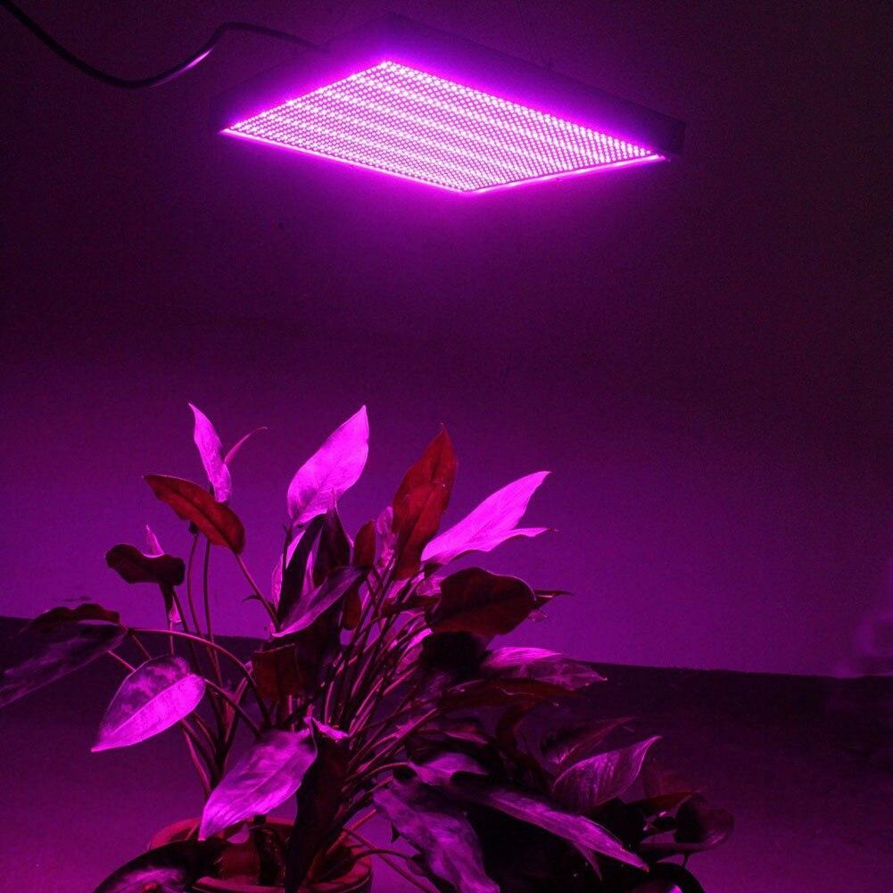 Newes 120 W UV LED plante lampe en croissance ampoule à effet de serre plantes d'intérieur poussent des lumières pour la culture hydroponique fleurs légumes @ 8 JD9