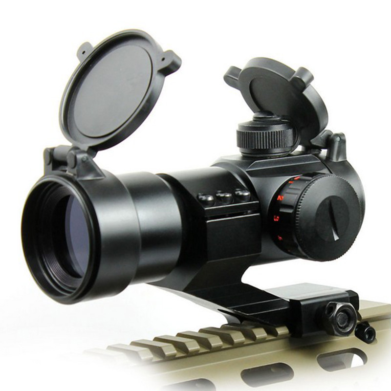 AIM Tactical M3 Red Green Dot Sight With L Shaped Mount Airsoft Riflescope Shooting Hunting Rifle Gun For 20MM Rail Rifle