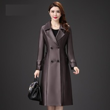 0d35813aa6b9 Haute couture Top vente produit dans 2019 trench-coat pour femmes De Luxe  vêtements 5XL Lâche lotunics long manteau Automne-hive.