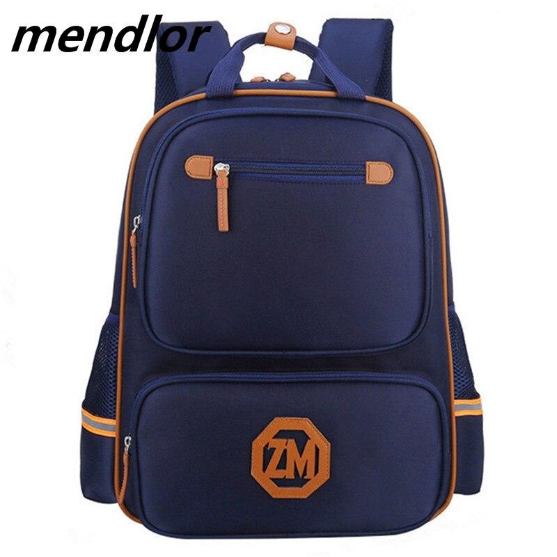Fashion Orthopedic Children Primary School Bags Kids Backpack For Teenagers Boys Girls Mochila Schoolbags Satchel book bag