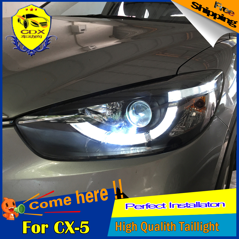 cdx car styling for mazda cx 5 headlights 2013 2015 led. Black Bedroom Furniture Sets. Home Design Ideas