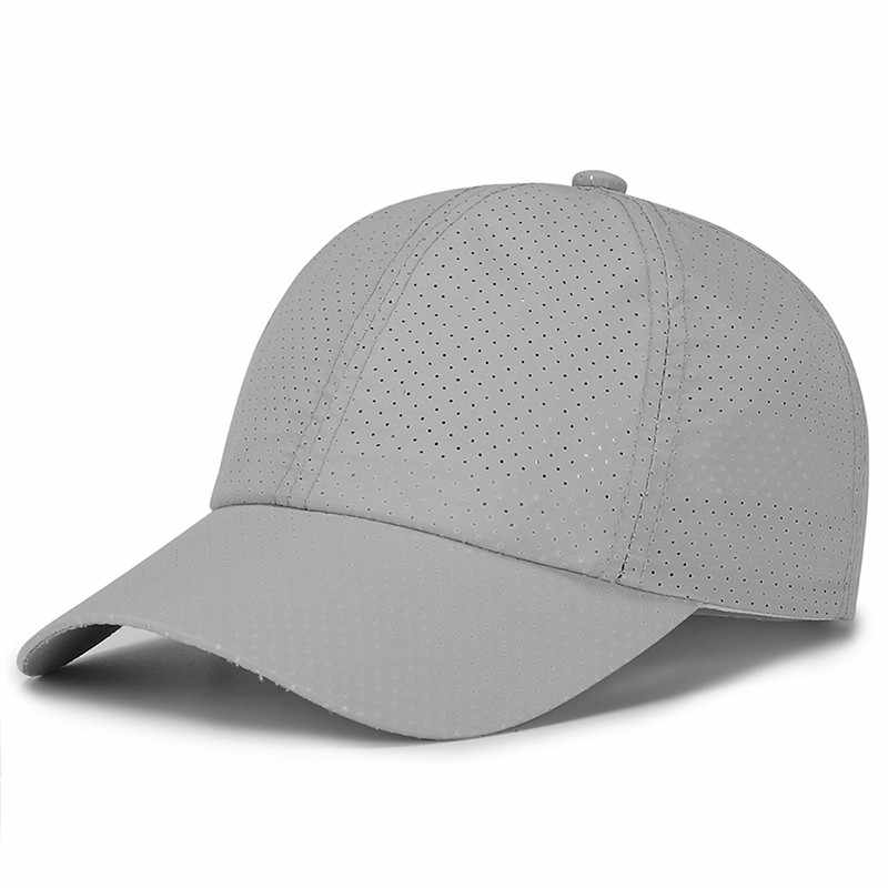 Soild צבע בייסבול כובע כובע גברים חיצוני ספורט כותנה כובעי קיץ בייסבול כובע כובעי דיג