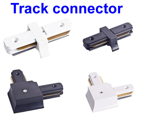 Led track light rail connectors for wiresright angle horizontal led track light rail connectors for wiresright angle horizontalcommercial track lighting mozeypictures Image collections