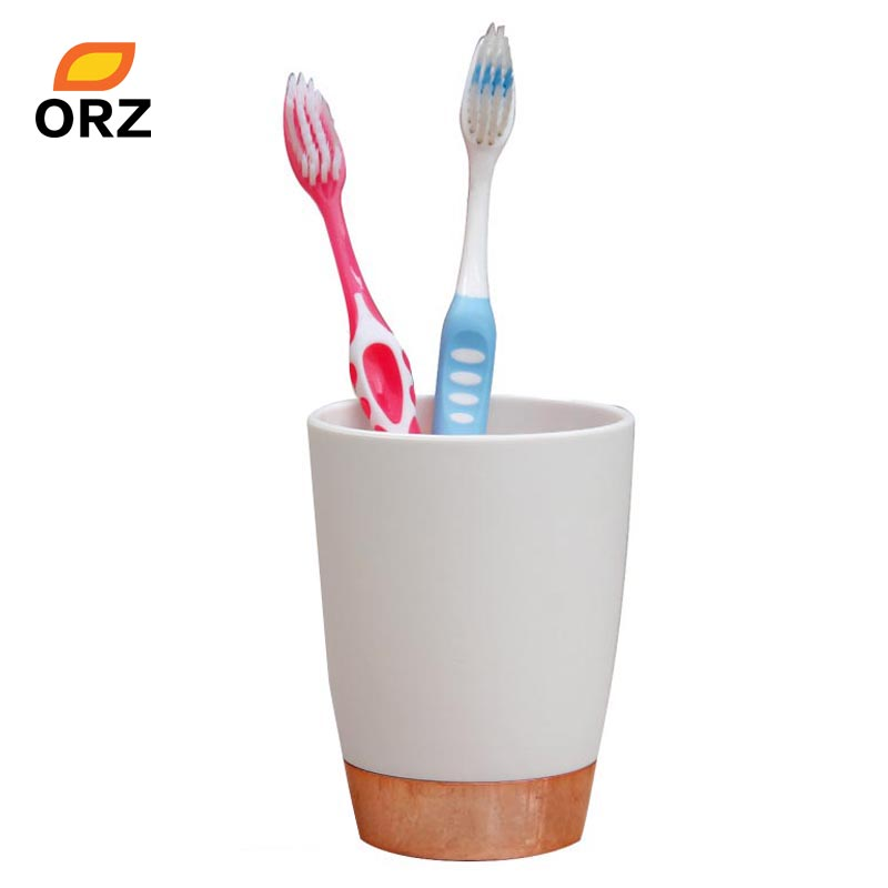 bathroom accessories tooth mug elegant toothbrush toothpaste holder bathroom decoration normal temperature water cupchina