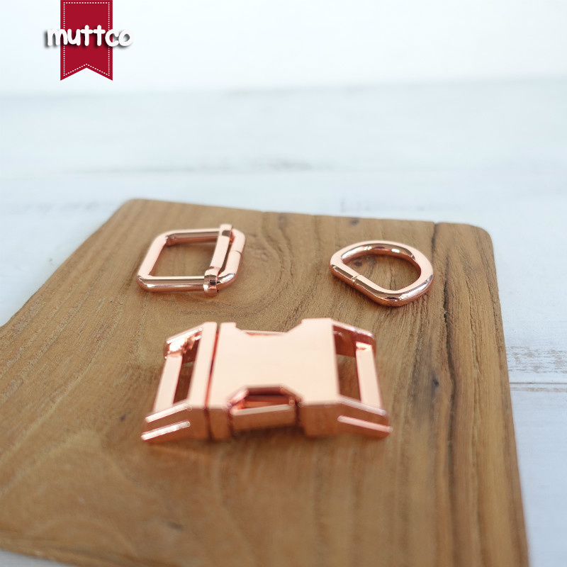 10set(metal Buckle+adjust Buckle+D Ring/set) DIY Dog Collar 2.5cm Diy Emboitement Zinc Alloy Buckle Adjust Buckles 4 Kinds
