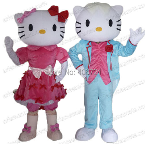 Cartoon Characters 80s Fancy Dress : Am hello kitty mascot costume cartoon character