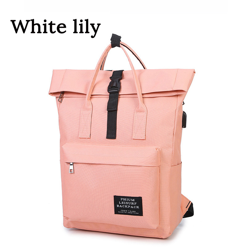 Women Canvas Backpack  Student School Bags Womens Backpack Travel Bags  Teenagers Girls School Bag