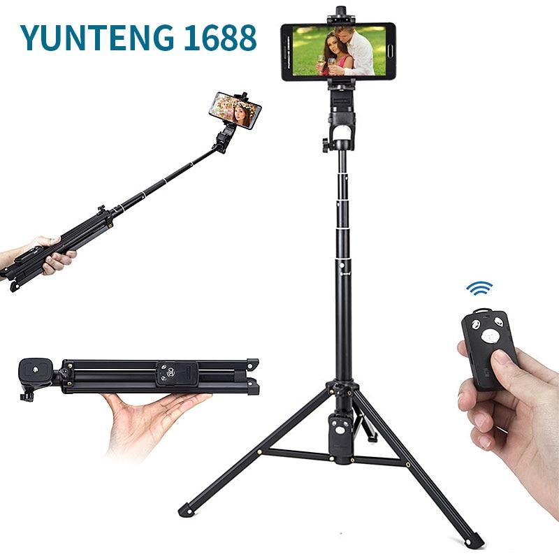 Yunteng 1688 3in1 mesa extensible monopie poste con soporte Base - Cámara y foto