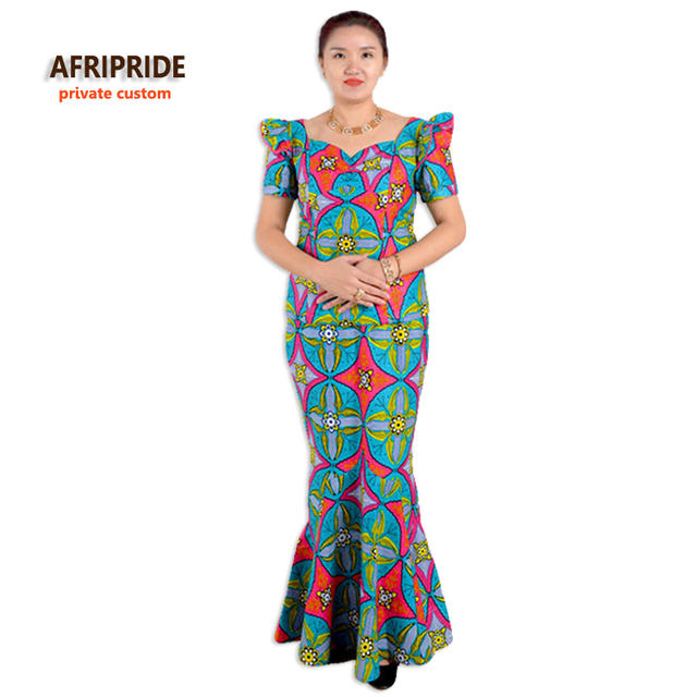 c2ca1e149 Summer african dresses for women two-piece suit traditional clothes styles  african femmes clothing print cotton casual A622616