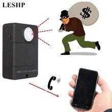 Mini GSM PIR Alarm Motion Sensor Alarm Infrared Wireless GSM Alarm Anti