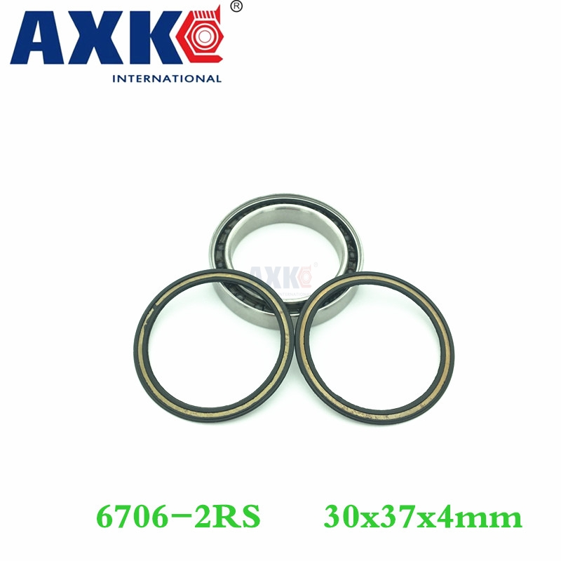 Axk 6706 Hybrid Ceramic Bearing 30*37*4 Mm Abec-1 ( 1 Pc) Industry Motor Spindle 6706hc Hybrids Si3n4 Ball Bearings 3nc 6706rs best sale ss6706zz s6706z s6706zz 6706 stainless steel miniature radial thin wall ball bearings size 30 37 4 mm high performance