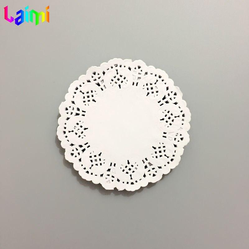 11 25cm 180pcs white cutout flower lace paper cupcake liners bulk doily doilies placemats on