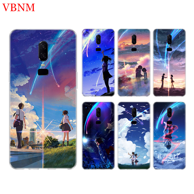 Your Name Funny New Phone Back Case For font b OnePlus b font font b 7
