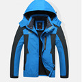Original Dropshipping 2016 new Top quality Men's thermal Jackets outdoor hiking Travel Mountain climbing leisure trekking jacket