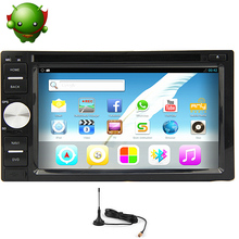 Android 5.1 RDS 4-Core 2Din GPS Car DVD Touch Screen Map PC Radio Navigator WiFi Stereo AMP Digital TV Auto BT System
