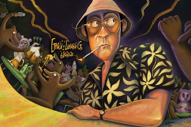 Home decoration fear and loathing in las vegas psychedelic