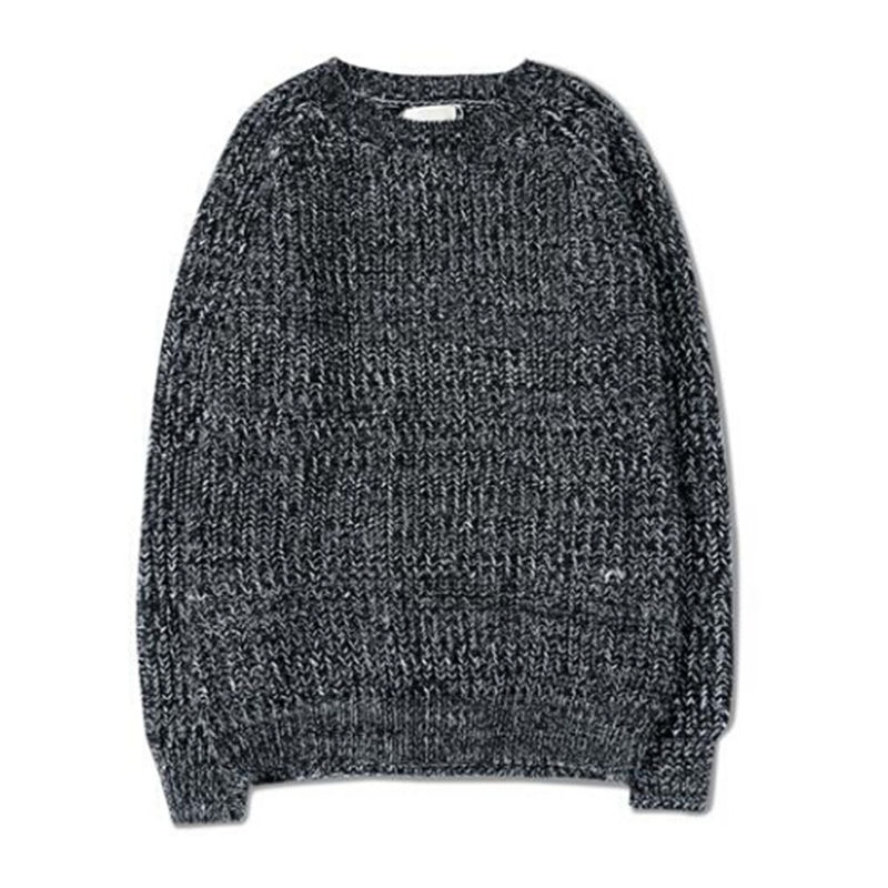 AILOOGE New 2017 Fall Winter Fashion Mens Mix Color Knit Sweaters AndAutumn Style Vintag ...
