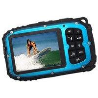 16MP Underwater Digital Video Camera 30ft Waterproof Dustproof Freezeproof