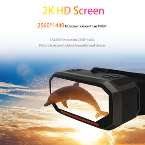 Image 2 - Sovawin H3 All in One VR Headset 3D Smart Glasses Virtual Reality Goggles VR Helmet 2K WIFI HDMI Video  with Controller