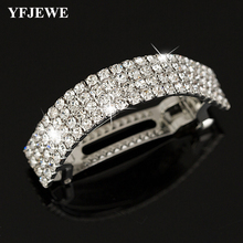 Fashion Chic Crystal Rhinestone Moon Hair Clip