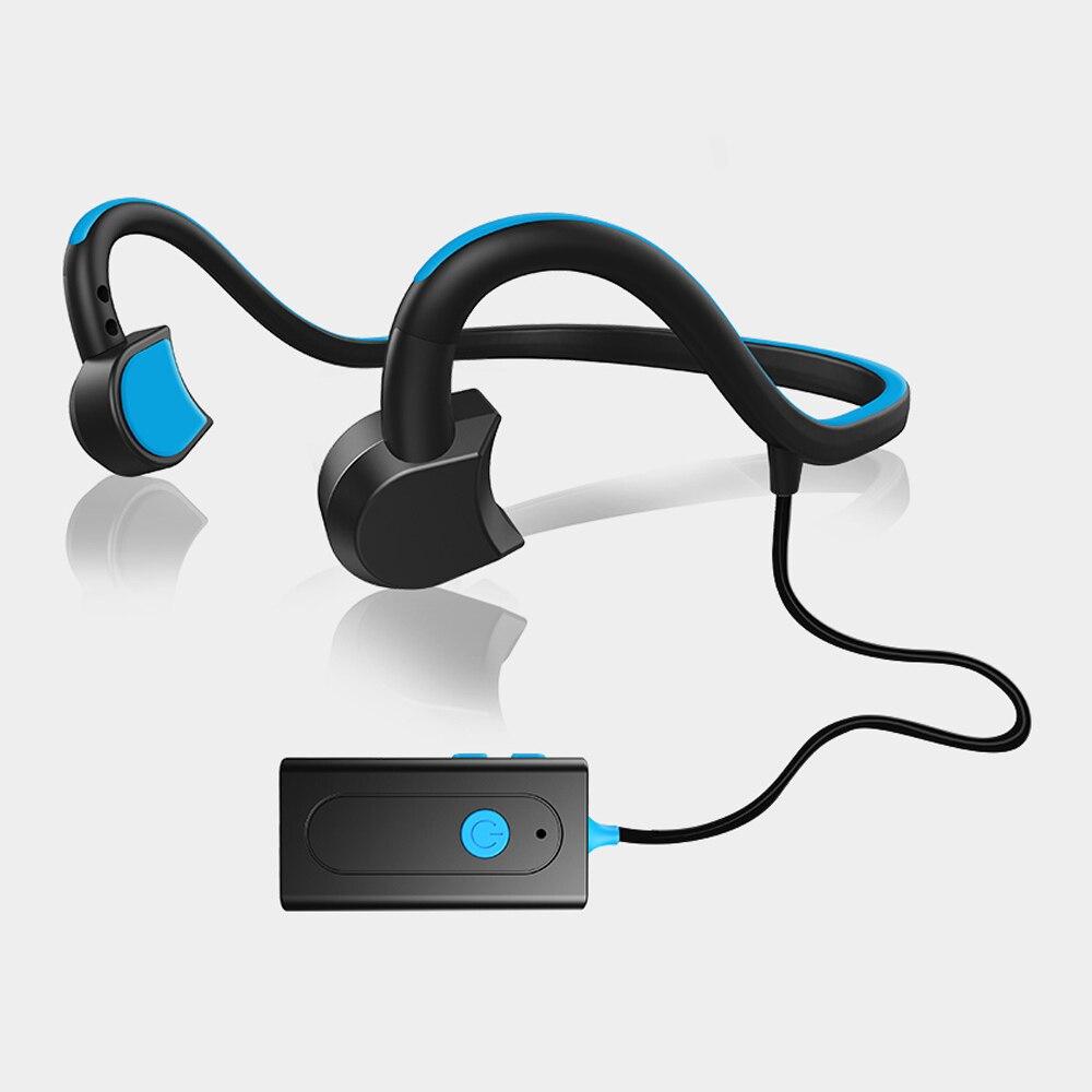 Open-ear Bone Conduction Headphone Bluetooth 4.1 Wireless Sports Ear Hook Stereo Headset with Microphone For Iphone,Xiaomi,Meizu