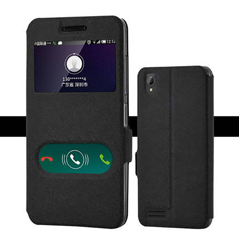 For Lenovo A3900 A3900D A 3900 A 3900D case window Mobile phone cover holster for 5.0 inch Back cover case