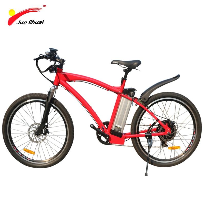 jueshuai 48V 500W Electric Bike with s900 LCD Display Mountian Ebike 26*1.25 MTB Bike 48 ...