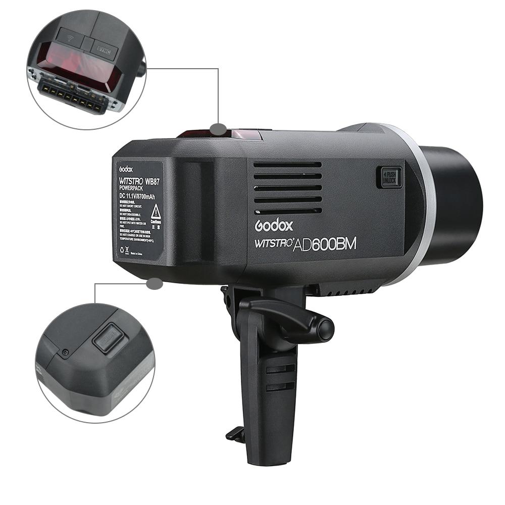 Жаңа келу Godox 2.4G сымсыз X жүйесі AD600BM - Камера және фотосурет - фото 6