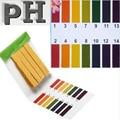 Gama Universal de Papel Tornasol Tiras de Prueba de pH del Agua del acuario 1-14 Ácido Alcalino Indicador de Alimentación de Laboratorio de Orina Del Suelo Probador del cuerpo