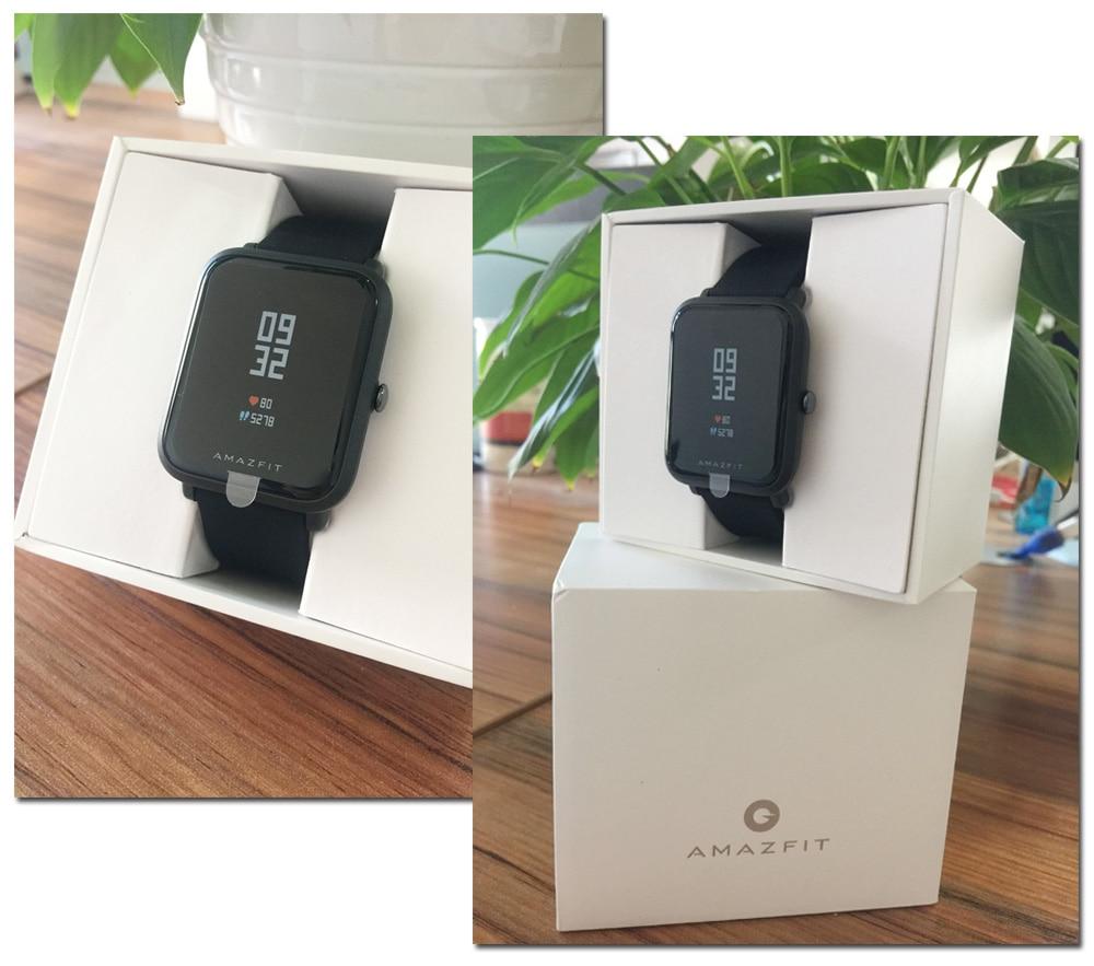 Original Xiaomi Amazfit Huami Smart Watch Youth Edition English Version Bip BIT PACE Lite IP68 GPS Heart Rate Mi Smartwatch (6)
