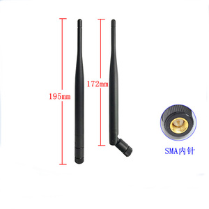 Image 5 - LTE 4G 2G 3G full band asta di gomma esterna pieghevole antenna GSM GPRS omnidirezionale 6dbi ad alto guadagno antenna