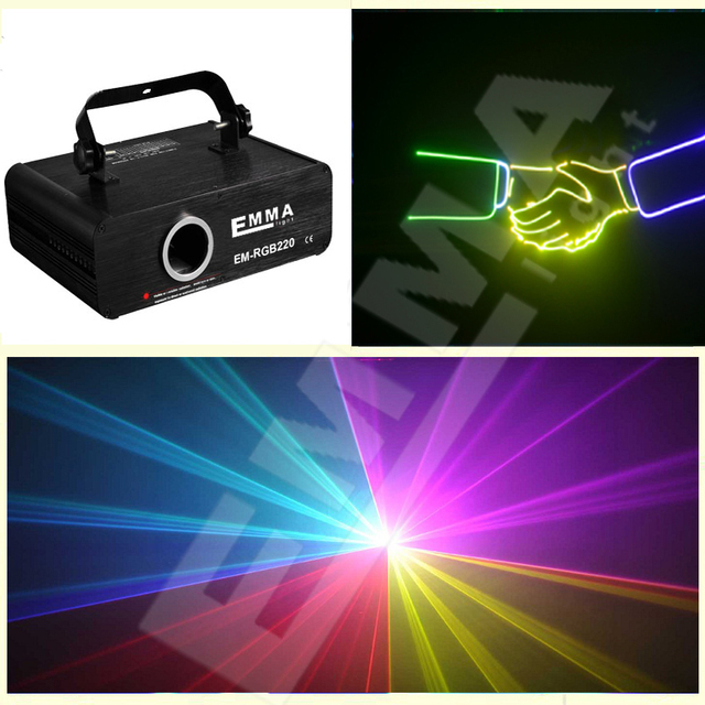 Small Power RGB Animation Dj Laser Performer Stage Lighting 05 Mini Watt ILDA