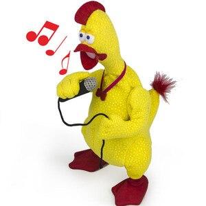 Juguete de peluche de pollo para niños, juguete de peluche de pollo llorón