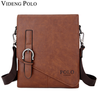 VIDENG POLO Men S Shoulder Bags Fashion Brand Crossbody Male Messenger Bag Quality Leather Portfolio Handbags