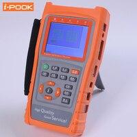 UTP Cable Tester 3.5 LCD CVBS CCTV Tester Monitor AHD Camera Testing PZ Control Address Scan Data Monitoring RS485 Flashlight