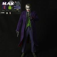 1:4 масштаб костюм клоуна аксессуары Джокер рисунок комплект одежды и тела DIY фигурку