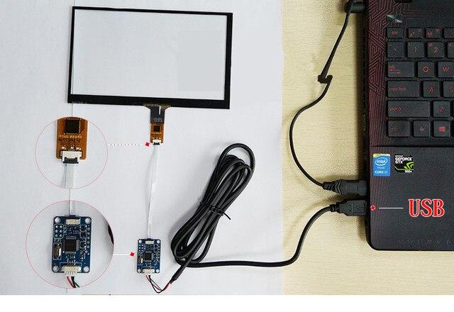 8 cali 192mm * 116mm Raspberry Pi tablet PC nawigacja pojemnościowy dotykowy Digitizer dotykowy szybka panelu ekranu dysk USB pokładzie