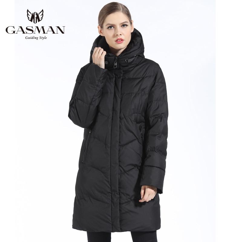 Gasman 2018 Merk Donsjack Vrouwen Winter Parka Voor Vrouwen Winddicht Uitloper Jas Dikke Vrouwelijke Overjas Plus Size 7XL 6XL - 5