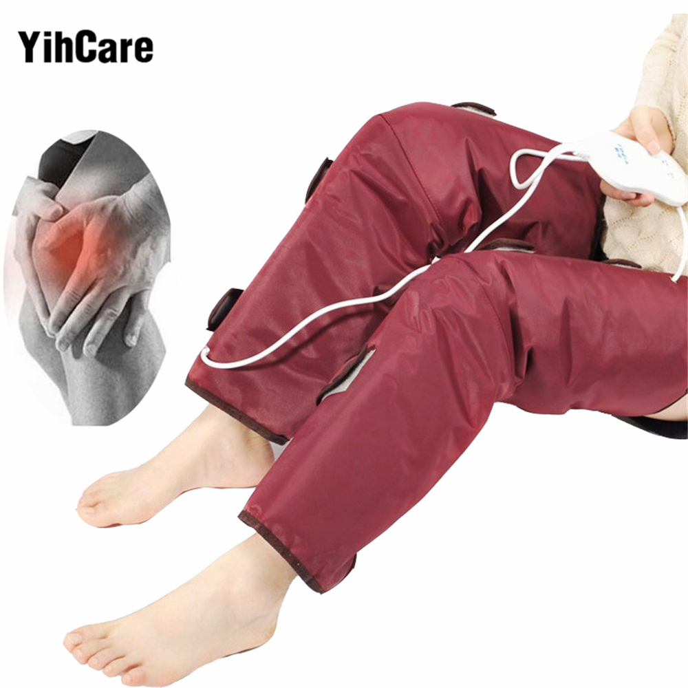 Air Compression Infrared Therapy Heated Vibrating Slimming Leg Massager Promote Blood Circulation Pain Relief Knee Health Care