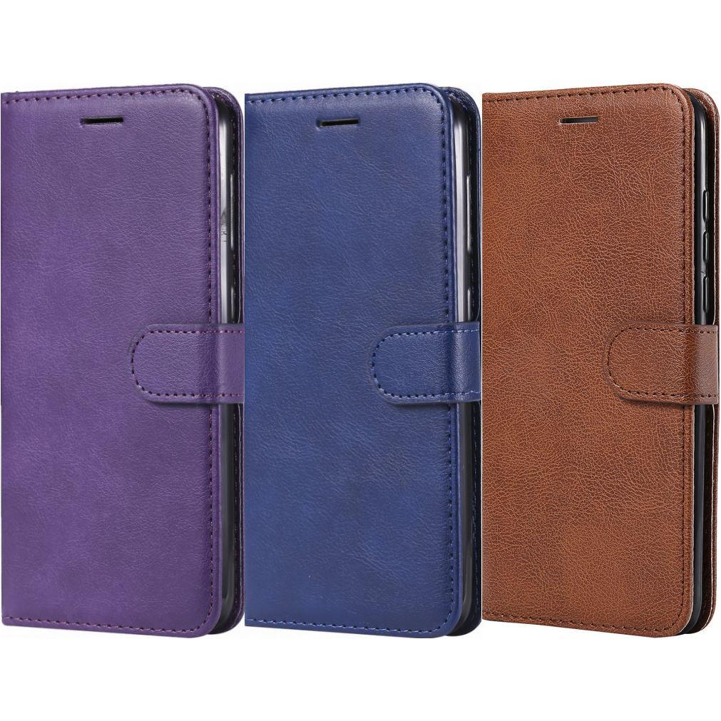 Роскошные Чехлы-бумажники для рамки Huawei P30 Lite Honor 8A 10 Y6 Pro Y7 Y8 2018 Y9 2019 Nova 4 4e слоты для карт бизнес-Чехлы P06Z