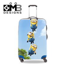 Minions luggage cover