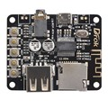 Portable Wireless Bluetooth Audio Receiver Board,  Bluetooth Stereo Music Transmitter Module for Headphones HIFI Amplifier New