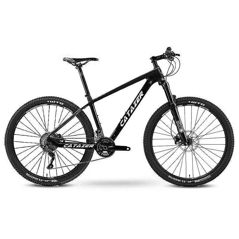 Catazer Carbon Mountain Bike 17″/19″21″ Carbon Fiber Frame Bicycle 29er Wheel 20 Speeds Profession MTB Bicycle Disc Brake Bike