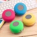 Em estoque! moda À Prova D' Água Sem Fio Bluetooth Handsfree Speaker Mic Sucção Duche Car