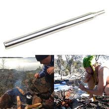 Открытый Кемпинг пикника складной пожарный вентилятор трубы строит Campfire взрывной воздушный огонь инструмент выживания EDC Пешие прогулки Охота J16